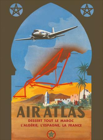 Air Atlas - Services All of Morocco, Algeria, Spain, France