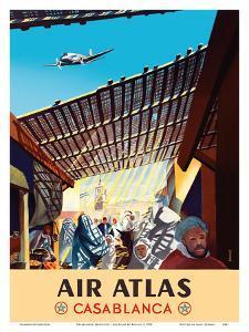 Casablanca, Morocco - Air Atlas by RENLUC