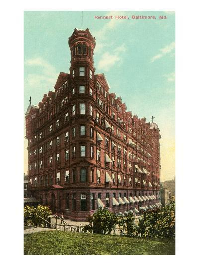 Rennert Hotel, Baltimore, Maryland--Art Print