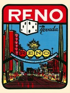 Reno, Nevada Decal