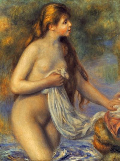 Renoir: Bather-Pierre-Auguste Renoir-Giclee Print