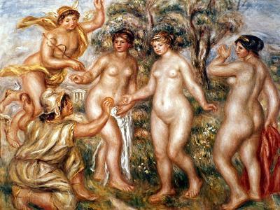 Renoir: Judgment Of Paris-Pierre-Auguste Renoir-Giclee Print