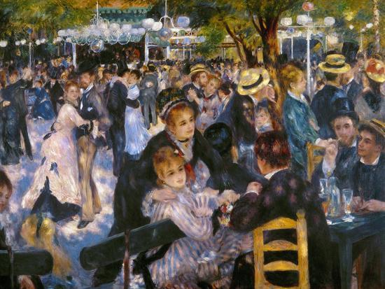 Renoir: Moulin De Galette-Pierre-Auguste Renoir-Premium Giclee Print