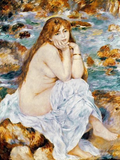Renoir: Seated Bather, 1885-Pierre-Auguste Renoir-Premium Giclee Print
