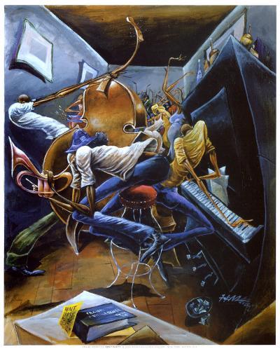 Rent Party-Frank Morrison-Art Print