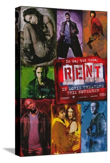 Rent--Stretched Canvas Print