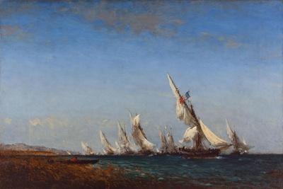 Rentrée des pêcheurs à Martigues-Ziem Félix-Giclee Print