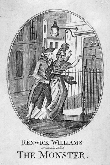 Renwick Williams Commonly Called the Monster, 1790--Giclee Print