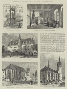 Reopening of the Schlosskirche at Wittenberg