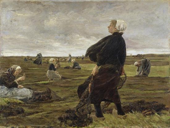 Repairing the Nets, 1889-Max Liebermann-Giclee Print