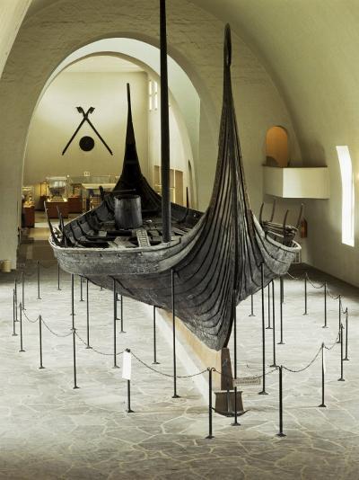 Replica of a Viking Ship, Oseberg, Oslo, Norway, Scandinavia-G Richardson-Photographic Print