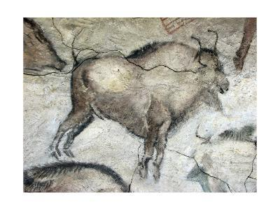 Replica of Cave Painting of Bison from Altamira Cave--Giclee Print