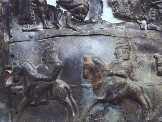 Representation of Heroic Legends, Bronze Plate--Giclee Print