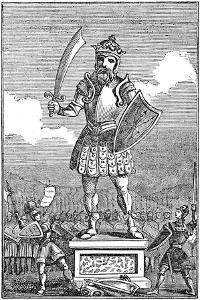 Representation of Odin or Wotan, 1834