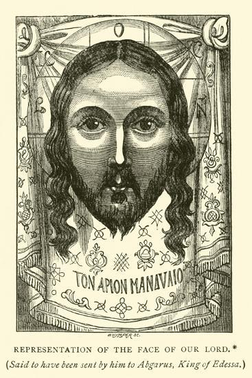 Representation of the Face of Our Lord--Giclee Print