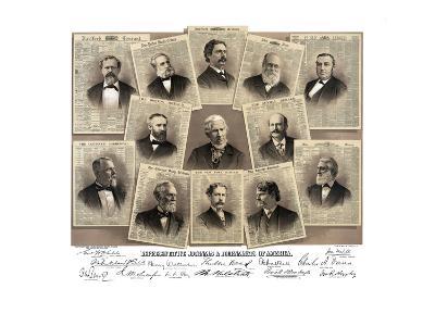 Representative Journals and Journalists of America- Root & Tinker-Art Print