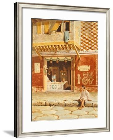 Reproduction of a Shop-Fausto and Felice Niccolini-Framed Giclee Print