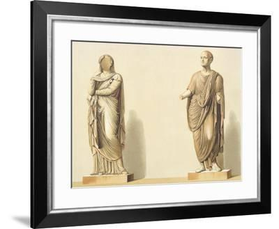 Reproduction of Some Statues-Fausto and Felice Niccolini-Framed Giclee Print