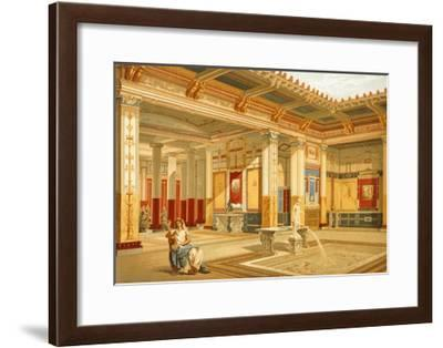Reproduction of the House of Marcus Lucretius Fronto-Fausto and Felice Niccolini-Framed Giclee Print
