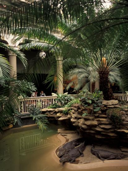 Reptile House at Forest Park, St. Louis Zoo, St. Louis, Missouri, USA-Connie Ricca-Photographic Print