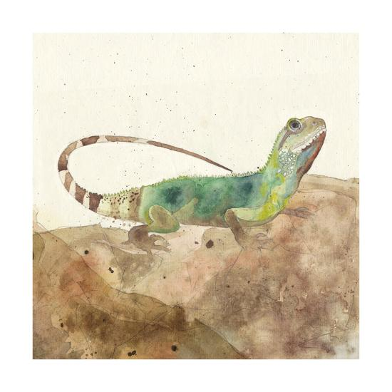 Reptillian I-Alicia Ludwig-Art Print