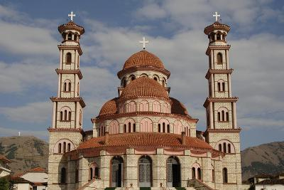 Republic of Albania, Korce, Resurrection Cathedral, Exterior--Giclee Print