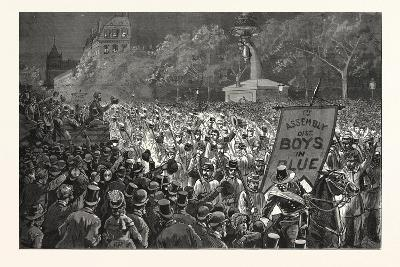 Republican Enthusiasm in New York--Giclee Print