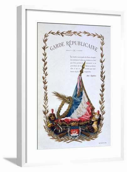 Republican Guard, 1887-A Lemercier-Framed Giclee Print