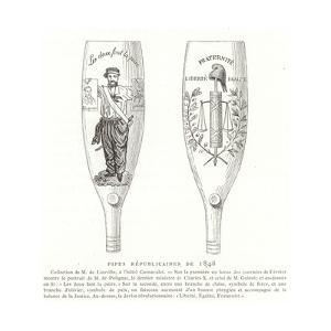 Republican Pipes, Revolution of 1848, France