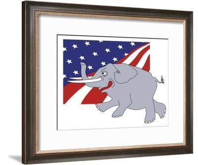 Republicans, no.1-Linda Braucht-Framed Giclee Print