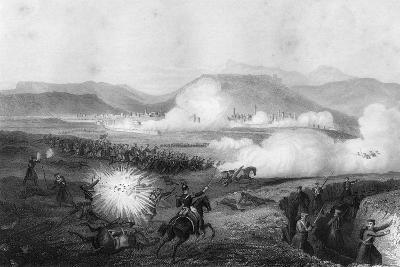 Repulse of the Russians, Battle of Kars, Turkey, Crimean War, September 1855-G Greatbach-Giclee Print