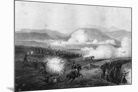 Repulse of the Russians, Battle of Kars, Turkey, Crimean War, September 1855-G Greatbach-Mounted Giclee Print