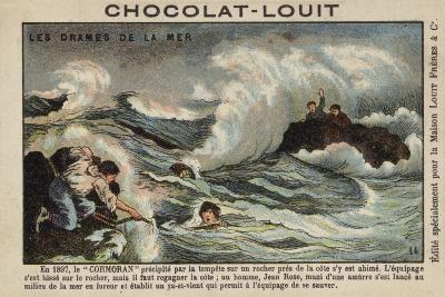Rescue of Survivors of the Wreck of the Cormoran, 1897--Giclee Print