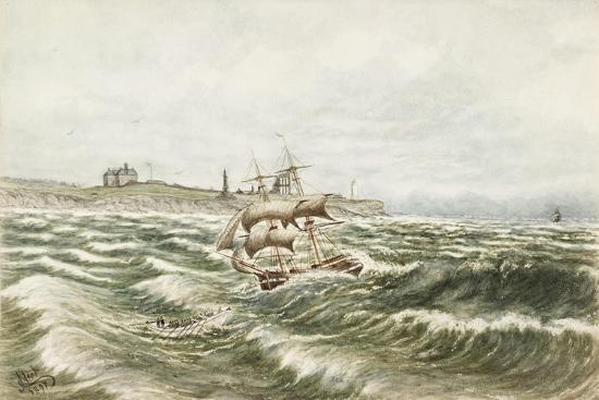 Rescue Off Tynemouth-James Henry Cleet-Giclee Print