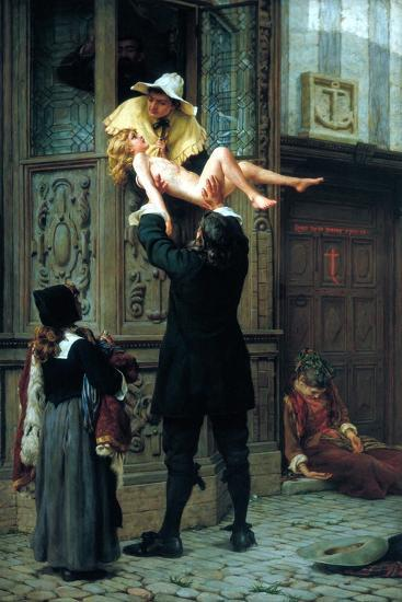 Rescued from the Plague, 1898-Francis William Topham-Giclee Print