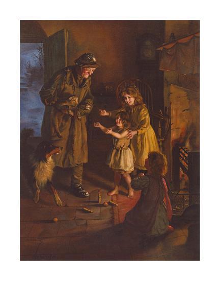 Rescued-Arthur Elsley-Premium Giclee Print