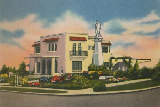 'Residence in Altos del Prado, Barranquilla', c1940s-Unknown-Giclee Print