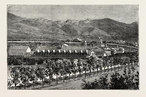 Residence of Brigham Young, Salt Lake City, USA, 1870s