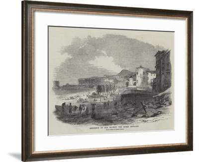 Residence of Her Majesty the Queen Dowager--Framed Giclee Print
