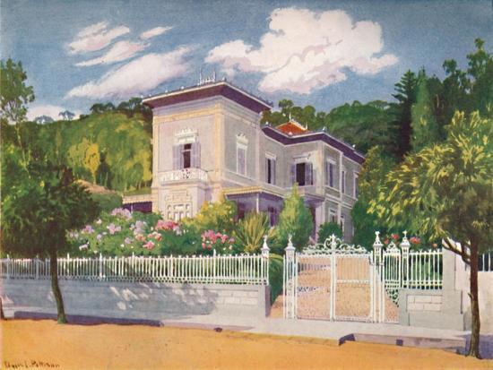 'Residence of Mr. Joseph Walker, Petropolis', 1914-Unknown-Giclee Print