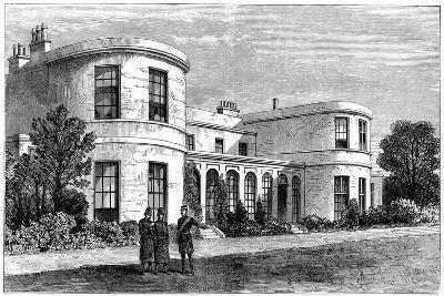 Residence of the Chief Secretary for Ireland, Phoenix Park, Dublin--Giclee Print