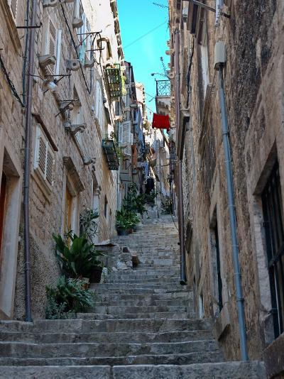 Residential Area off Main Street, Old Town, Dubrovnik, Croatia-Lisa S^ Engelbrecht-Photographic Print