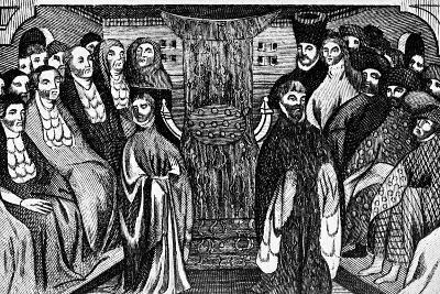 Resignation of Richard Ii, 1399, (C1902-190)--Giclee Print