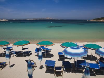 Resort Beach, Baja Sardinia, Sardinia, Italy-Walter Bibikow-Photographic Print