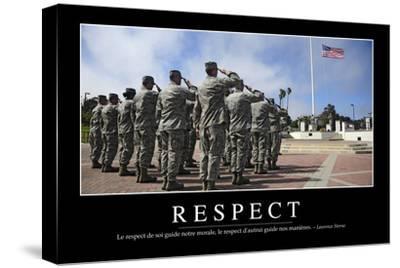Respect: Citation Et Affiche D'Inspiration Et Motivation