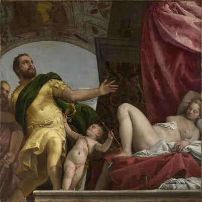 Respect (From Four Allegories of Lov), Ca. 1575-Paolo Veronese-Giclee Print