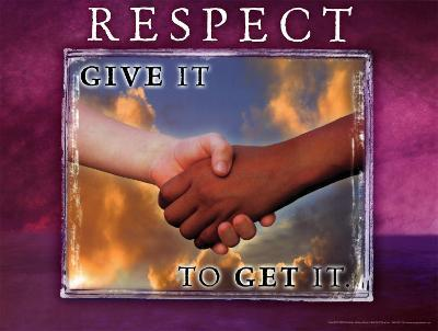 Respect--Art Print