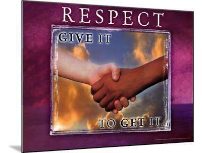 Respect--Mounted Print