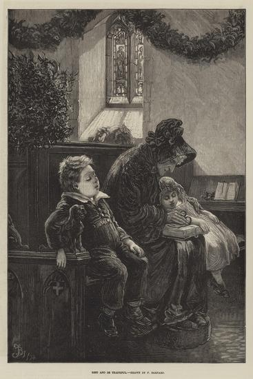 Rest and Be Thankful-Frederick Barnard-Giclee Print
