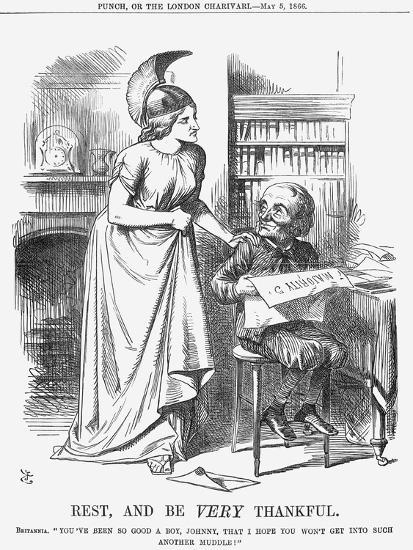 Rest, and Be Very Thankful, 1866-John Tenniel-Giclee Print